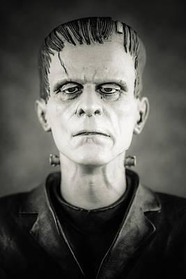 Frankenstein's Monster - Boris Karloff II Poster by Marco Oliveira
