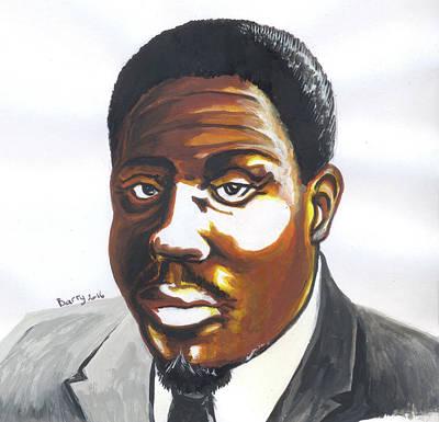 Franklin Boukaka Poster by Emmanuel Baliyanga