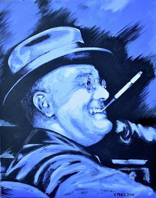 Franklin D. Roosevelt Poster by Victor Minca