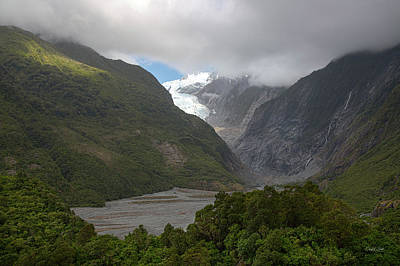 Poster featuring the photograph Franz Josef Glacier  by Cheryl Strahl