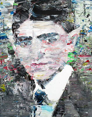 Franz Kafka  Portrait Poster by Fabrizio Cassetta