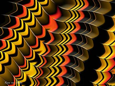Frax Patterns Poster by Riana Van Staden