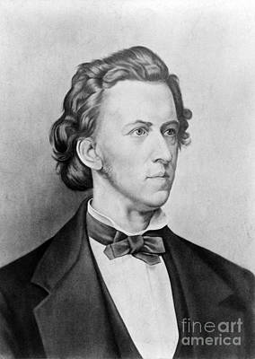 Fr�d�ric Chopin, Polish Composer Poster by Science Source