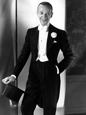 Fred Astaire At The Time Of Follow The Poster