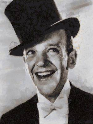 Fred Astaire Hollywood Legend Poster