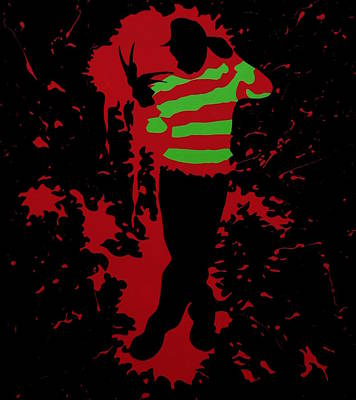 Fred In The Red Poster