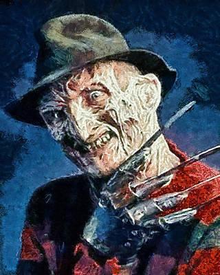 Freddy Kruegar Poster by Joe Misrasi