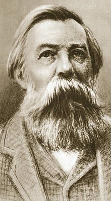 Frederick Engels Poster by German School
