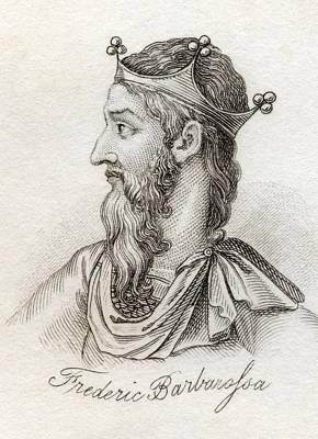 Frederick I Barbarossa 1122 - 1190 Holy Poster