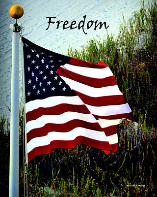 Freedom Poster by Gerlinde Keating - Galleria GK Keating Associates Inc