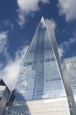 Freedom Tower At Ground Zero Poster by John Telfer