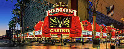 Fremont Casino Entrance Poster by Aloha Art