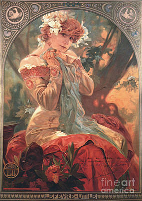 French Biscuit Ad 1904 Poster by Padre Art