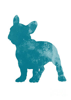 French Bulldog Fine Art Illustration Poster by Joanna Szmerdt