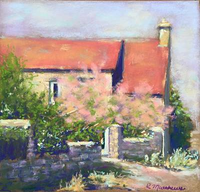 French Cottage Poster by Rebecca Matthews