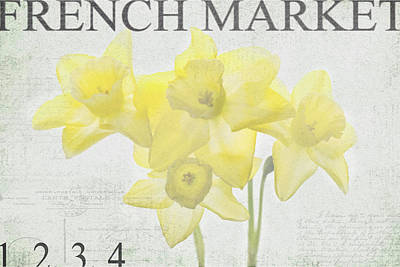 French Market Series C Poster by Rebecca Cozart