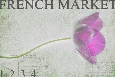 French Market Series D Poster by Rebecca Cozart