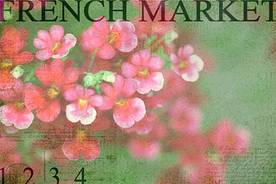 French Market Series I Poster by Rebecca Cozart