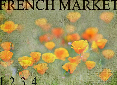 French Market Series Q Poster by Rebecca Cozart