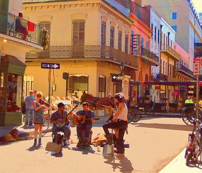 French Quarter Day Poster