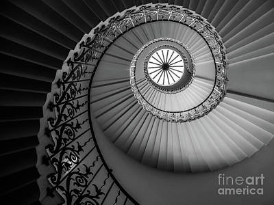 French Spiral Staircase 1 Poster