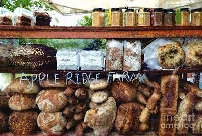 Fresh Baked Bread - Bakery Bread Poster