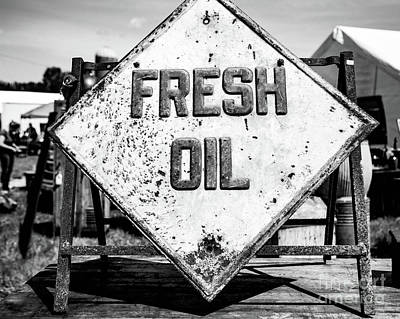 Fresh Oil Poster by April Ann Canada