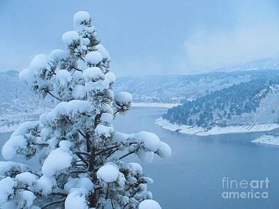 Fresh Snow Poster by Jeffrey Birr