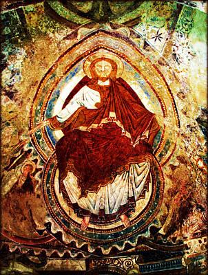 Fresque De Jesus Christ Poster by Susie Weaver