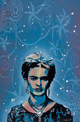 Frida Poster by Tai Taeoalii