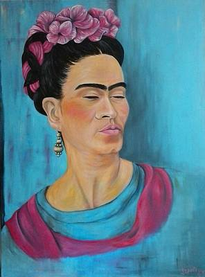 Frida Poster by Jenny Pickens