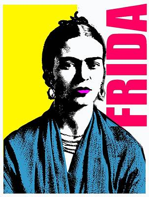 Frida Kahlo-4 Poster