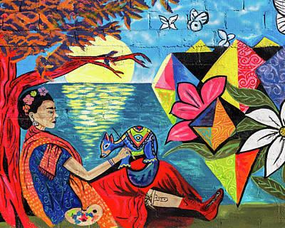 Frida Kahlo  Poster by Jon Manjeot