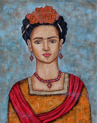 Frieda Kahlo Poster by Rain Ririn