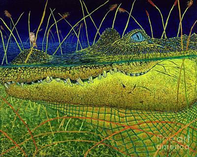 Swamp Gathering Poster