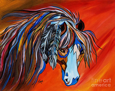 Frisco War Horse Poster by Janice Rae Pariza