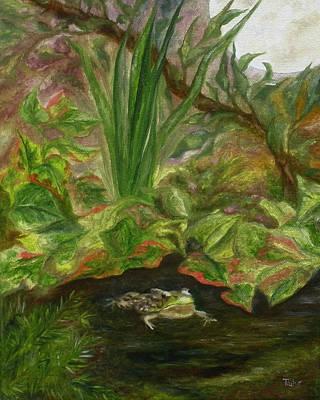 Frog Medicine Poster