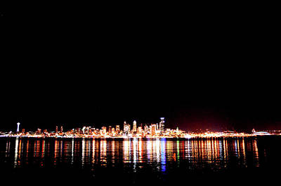 From Alki -wide Poster