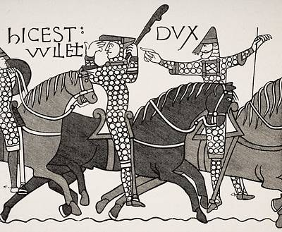 From Bayeux Tapestry. William Duke Of Poster