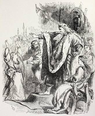 From King Lear By William Shakespeare Poster by Vintage Design Pics
