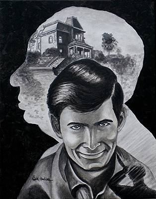 Poster featuring the painting From The Mind Of Hitchcock by Al  Molina