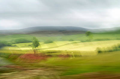 heading north of Yorkshire to Lake District - UK 1 Poster
