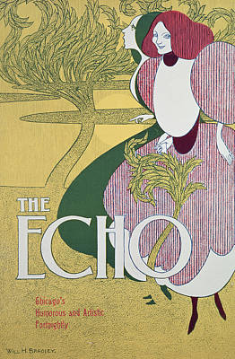 Front Cover Of The Echo Poster by William Bradley