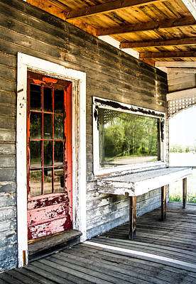 Front Porch Farm Poster by Sabrina Ramina