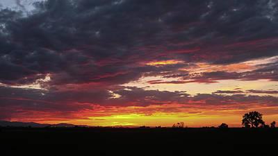 Front Range Sunset Poster