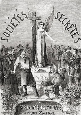 Frontispiece From Societes Secretes Poster