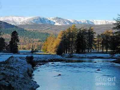Frost In The Glen - Invercauld Poster