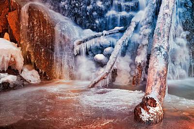 Frozen Avalon Fantasy Falls Poster