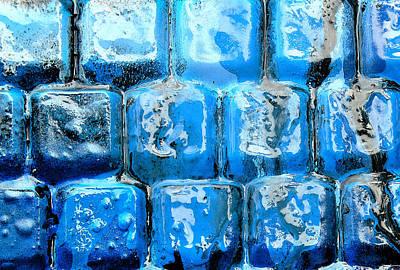 Frozen Keyboard Poster