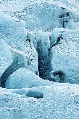 Frozen Patterns Poster by Svetlana Sewell